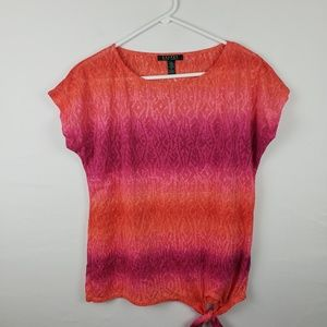 Lauren Ralph Lauren Top Scoop Neck #198